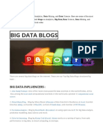 BIG DATA BLOGS