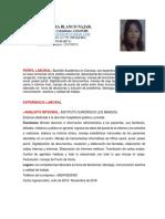 Nuevo Curriculum Blanca Con Foto