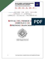 Ritual de Aprendiz GL-1