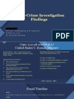 Cyber Crime Investigation Findings
