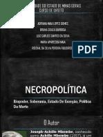 NECROPOLÍTICA 1