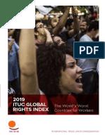 2019 06 Ituc Global Rights Index 2019 Report en 2