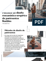 Métodos de Diseño Mecanístico-empírico de Pavimentos Flexibles
