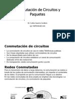 Conmutación de Circuitos y Paquetes