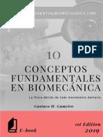 10 Conceptos Fundamentales en Biomecánica