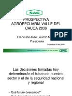 Prospectiva Agropecuaria Valle Del Cauca 2036