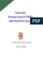 Analisis Peminatan PPDS FK UNPAD