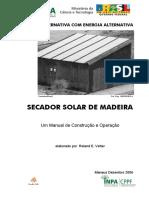 SECADOR SOLAR DE MADEIRA INPA
