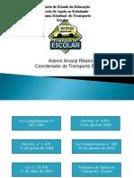 transporte escolar legislação