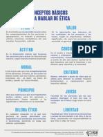 Conceptos Básicos Para Hablar de Ética