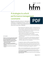 4 Strategies to Unlock Performance Management Constraints Hfm