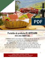 Portafolio de Productos EL ARTESANO Nuevo 2019