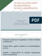 Inflamacao e Anti Inflamatorios