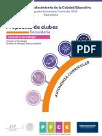Club Tecnologia Secundaria Presentacion