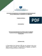 Proyecto RSE Juan Valdez