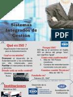 SISTEMAS INTEGRADOS DE GESTION DE CALIDAD
