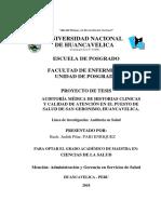 Proyecto Judith Pari