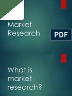 Market Research _Team Intro Training