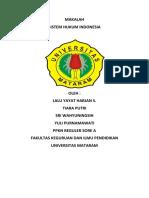 Makalah Sistem Hukum Indonesia