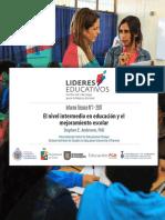 ANEXO 3_ El Nivel Intermedio y El Mejoramiento Escolar