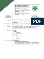 Sop Penatalaksanaan Penggunaan Alat Pelindung Diri (Apd)