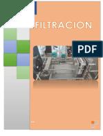 Informe de Filtracion