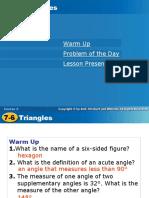Traingle Classification (2)