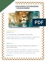 Crónicas de Narnia y su Paralelismo Evangelio, explicación