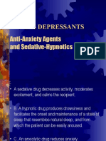 22581888 CNS Depressants Anti Anxiety Agents and Sedative Hypnotics