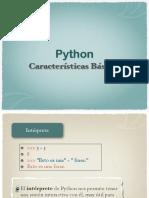 Características Básicas de Python