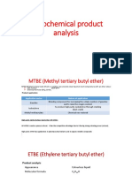 Petrochemicals Product Analysis