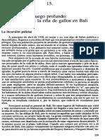 C.geertz Riña de Gallos Pp.339-373