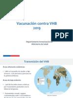 Vacunación Contra VHB en El RN VDC 19-03-2019