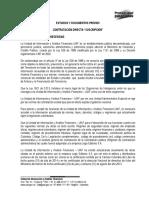 Contratacion Directa No 24 de 2014 ESTUDIOS PREVIOS