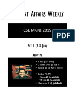 current affairs weekly