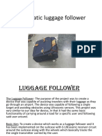 Automatic Luggage Follower