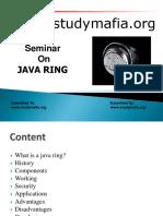 Java Ring