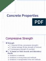 Lecture 2b - Concrete Properties