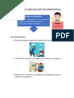 Instructivo - Sistema de Comunicación de Emergencia