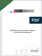 Cambios en la Versión 4.9.4 del Módulo de Procesos Presupuestarios