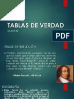 Clase02-Tablas de Verdad