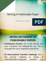 Writing A Publishable Paper 2.ppt
