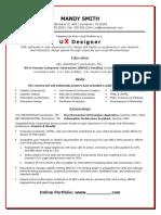 Entry Level UX Designer Resume.doc
