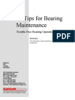 10 Tips for Bearing Maintenance