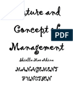 Nature and Concept of Management