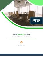 Usedtotech.com - 08 Corporate Report Design Template in Microsoft Word