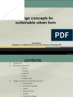 Design Concepts for Sustainable Urban Fo