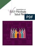 Congreso nacional -Innovaciones en psicología y salud mental