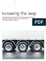 UBS Trade Finance - Knowing the Way