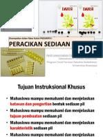 3. Peracikan Sediaan Pil